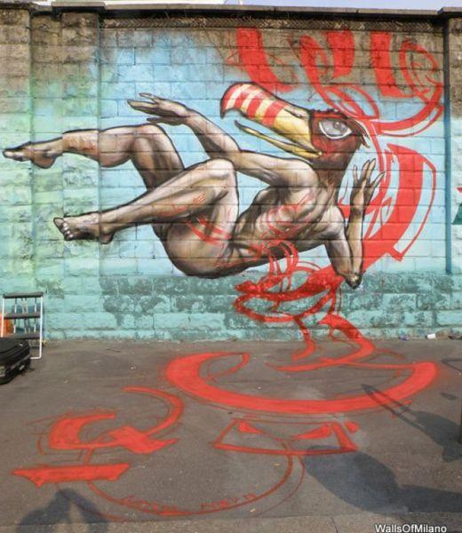 Gattonero Lascia Il Segno Street Art Graffiti Murales Stencil